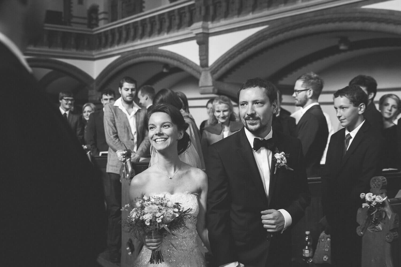 Einzug des Brautpaares Kirche Dresden