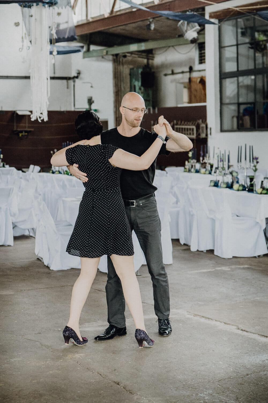 Tanzendes Hochzeitspaar Leipzig