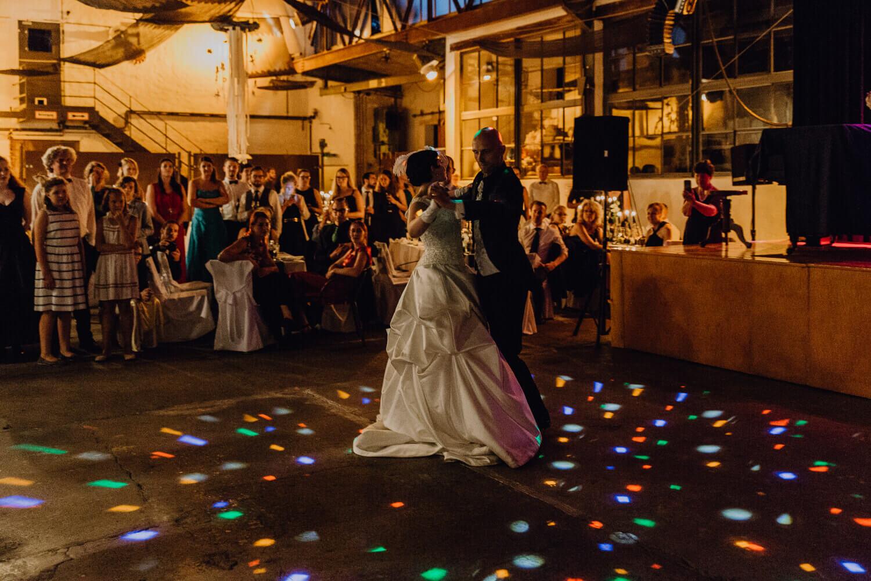 Hochzeitstanz altes Kranwerk Naunhof