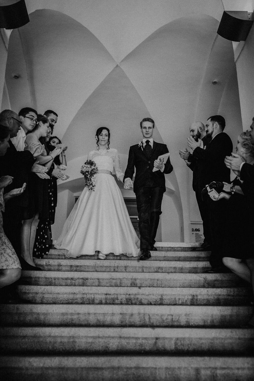 Auszug Brautpaar Wolkenstein