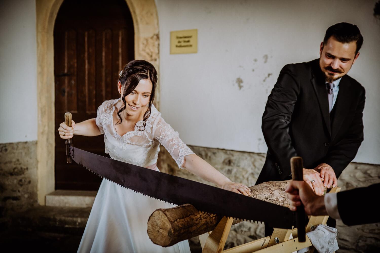 Traditionelle Hochzeitsspiele Schloss Wolkenstein
