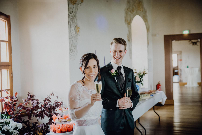 Brautpaar Schloss Wolkenstein