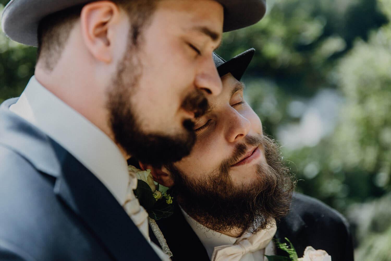 Hochzeitsfotos im Schlosspark Wolkenstein