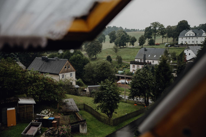 Ausblick über Wolkenstein