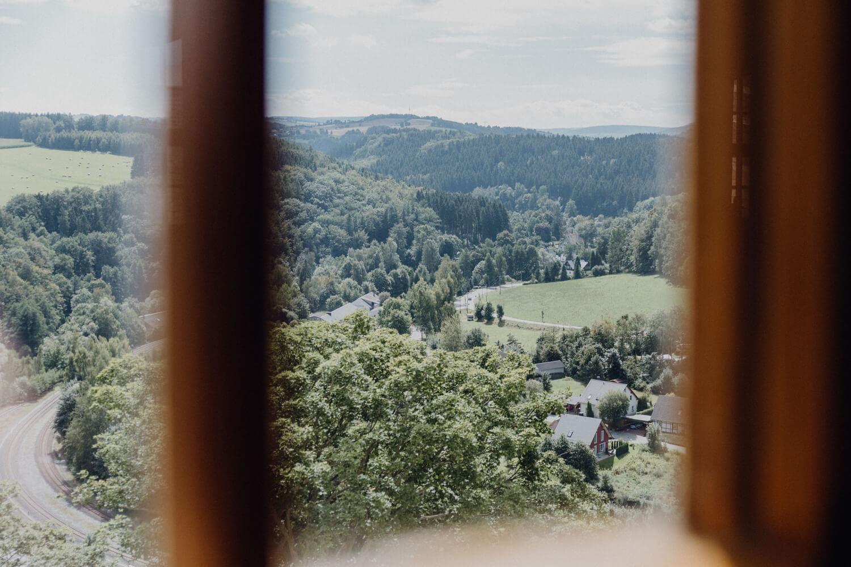Aussicht Schloss Wolkenstein
