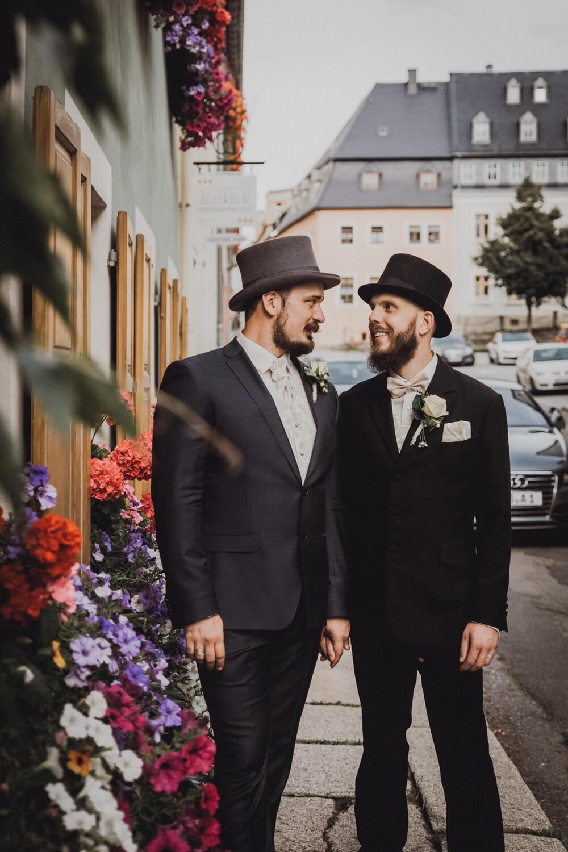Hochzeitsfotos Altstadt Wolkenstein