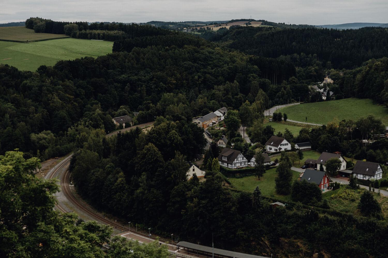 Ausblick Wolkenstein